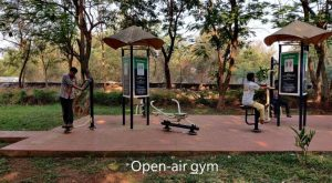 Open_air Gym for increasing muscle mass